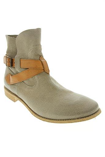 mellow yellow chaussures femme de couleur beige