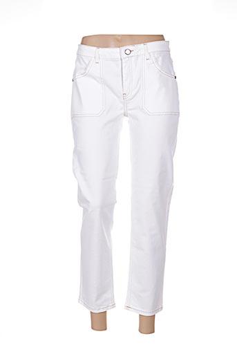 Pantalon 7/8 beige ACOTÉ pour femme