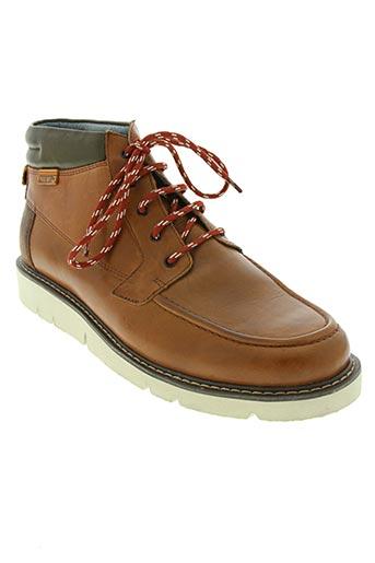 pikolinos chaussures homme de couleur marron
