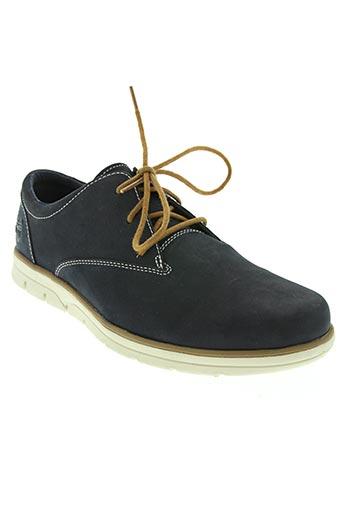 timberland chaussures homme de couleur bleu