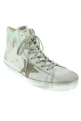 golden goose deluxe brand chaussures femme de couleur blanc