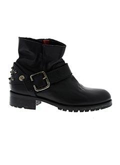Bottines/Boots noir NIMAL pour fille
