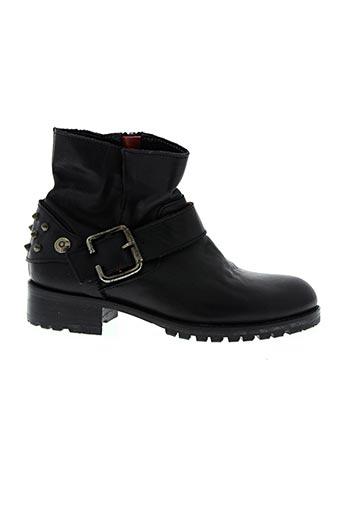 nimal chaussures fille de couleur noir
