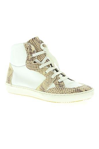 ni max chaussures femme de couleur blanc