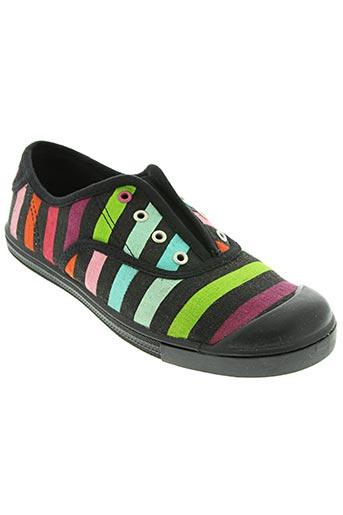 little marcel chaussures fille de couleur noir