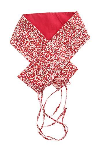 Ceinture rouge SOPHIE BARRÉ pour femme