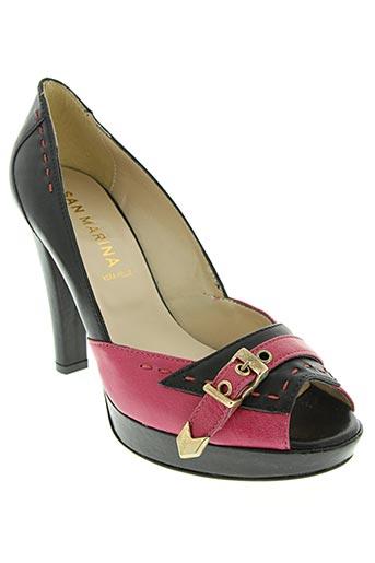 san marina chaussures femme de couleur rose