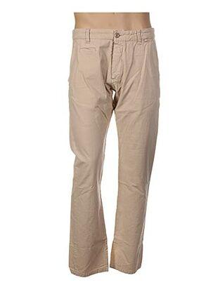 Pantalon casual beige OXBOW pour homme