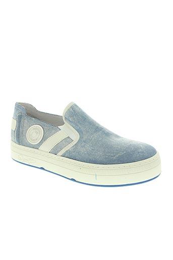 pataugas chaussures homme de couleur bleu