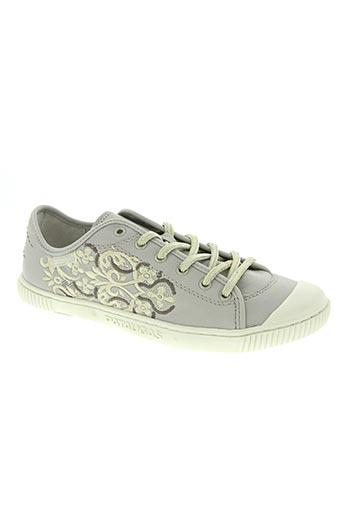 pataugas chaussures femme de couleur gris