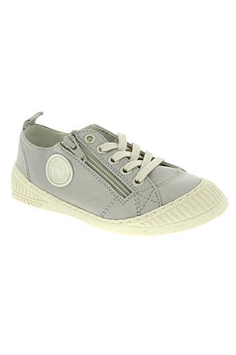 pataugas chaussures garçon de couleur gris