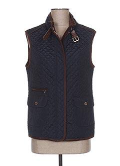 Veste casual bleu BARILOCHE pour femme