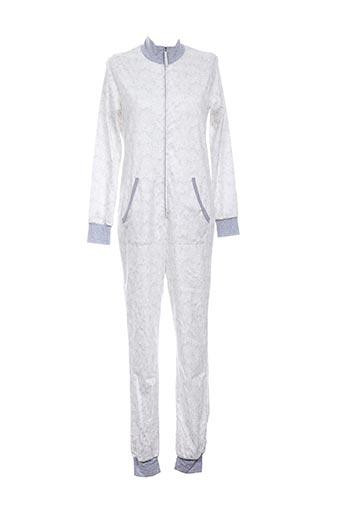 Pyjama gris CALIDA pour femme