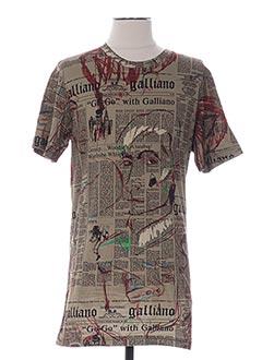 Produit-T-shirts-Homme-GALLIANO