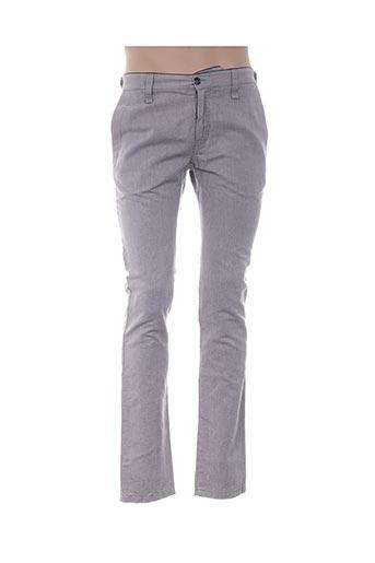 Pantalon casual beige GALLIANO pour homme