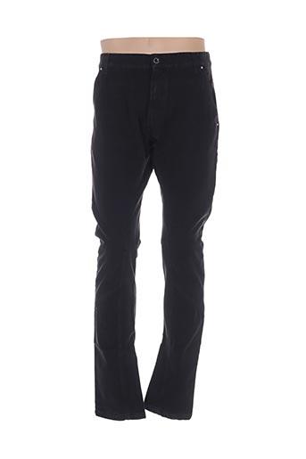 Pantalon casual noir GALLIANO pour homme