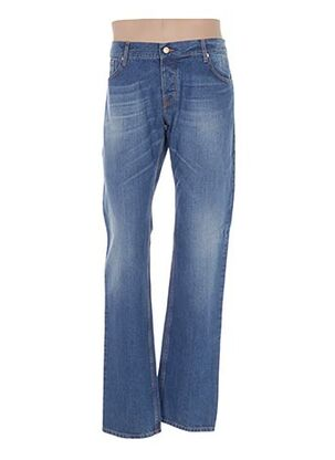 Jeans coupe slim bleu GALLIANO pour homme