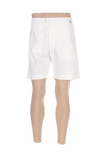 Short beige GALLIANO pour homme