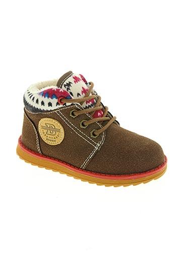 beppi chaussures garçon de couleur marron