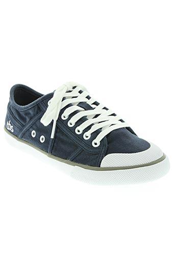 tbs chaussures garçon de couleur bleu