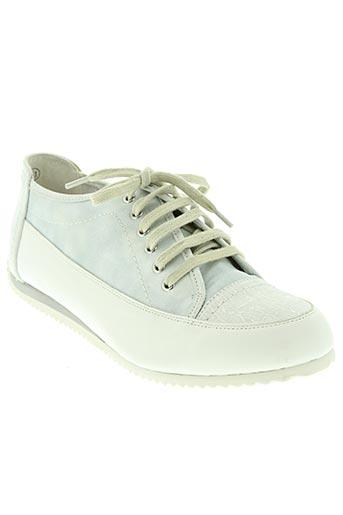 karston chaussures femme de couleur blanc
