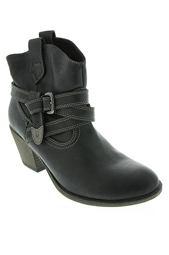 gino ventori chaussures femme de couleur noir