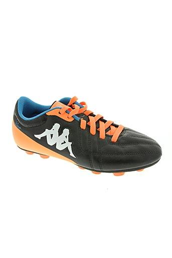 kappa chaussures garçon de couleur noir