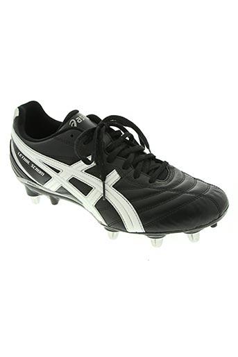 asics chaussures homme de couleur noir