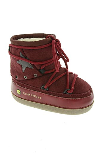 golden goose deluxe brand chaussures fille de couleur rouge