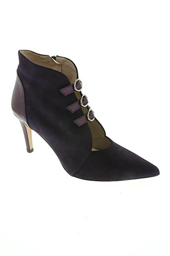 brenda zaro chaussures femme de couleur violet