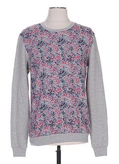 Sweat-shirt gris PRINTEMPS BY MARIA LUISA pour femme
