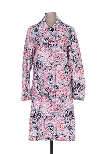 Manteau long rose PRINTEMPS BY MARIA LUISA pour femme