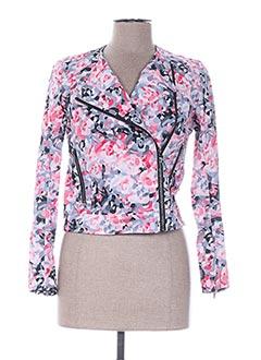 Veste casual rose PRINTEMPS BY MARIA LUISA pour femme