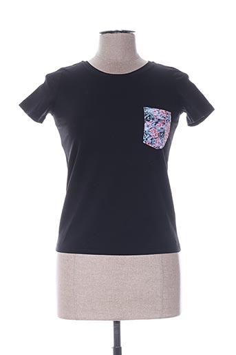 T-shirt manches courtes noir PRINTEMPS BY MARIA LUISA pour femme