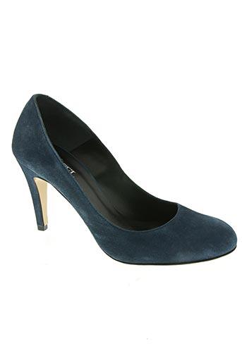 orcel chaussures femme de couleur bleu