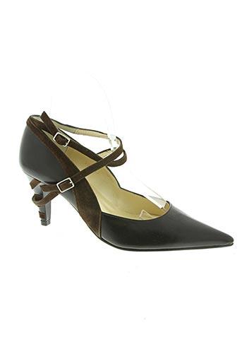 lazio chaussures femme de couleur marron