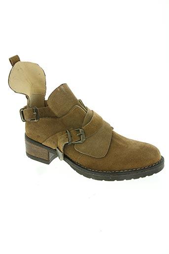 orcel chaussures femme de couleur marron