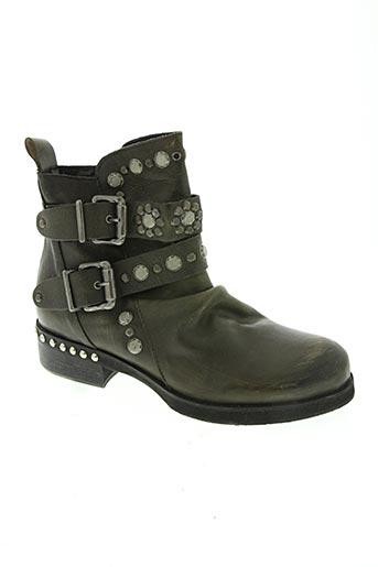 curiositè chaussures femme de couleur vert