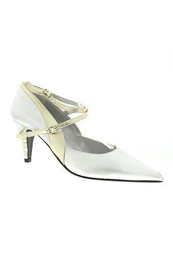 lazio chaussures femme de couleur gris