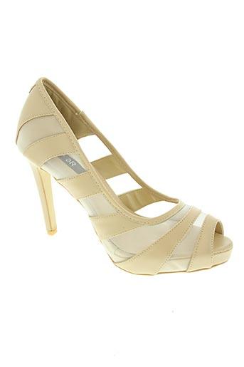 top or chaussures femme de couleur beige