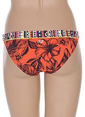 Bas de maillot de bain orange BANANA MOON pour femme seconde vue