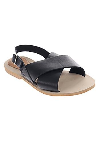 samsoe & samsoe chaussures femme de couleur noir