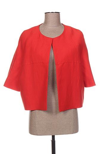 Veste casual rouge MAXMARA pour femme