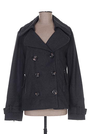 Veste casual gris EMOI BY EMONITE pour femme