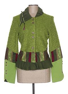 Veste casual vert ENJOY pour femme