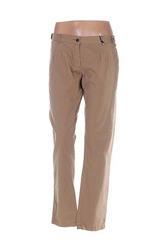 Pantalon chic beige EMOI BY EMONITE pour femme