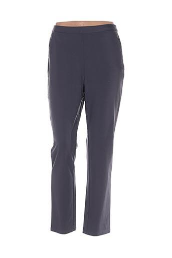 Pantalon casual gris ALICE ET BARNABE pour femme