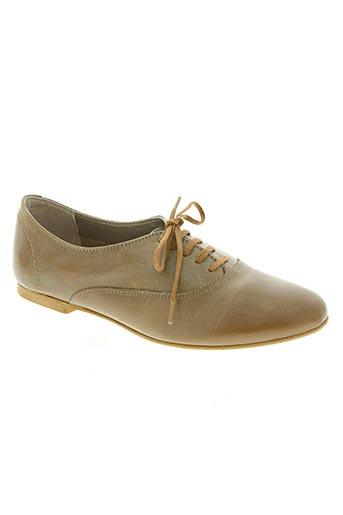 impact chaussures femme de couleur marron