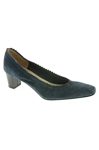 paco herrero chaussures femme de couleur bleu