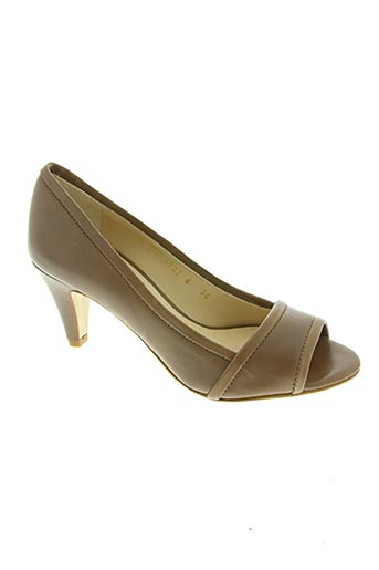 paco herrero chaussures femme de couleur marron